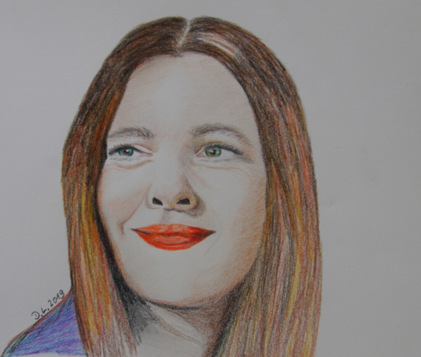 Drew Barrymore by HamburgGirl